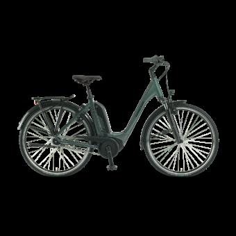 "Winora Tria N8f 500 28"" Olive EASY ENTRY Unisex Elektromos Városi Kerékpár 2021"
