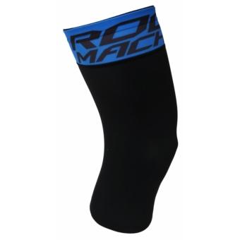 Rock Machine Knee warmers térdmelegítő [fekete-kék, XL]