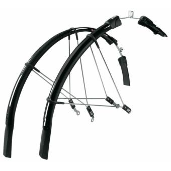SKS-Germany Raceblade Long kerékpár sárvédő szett [fekete]