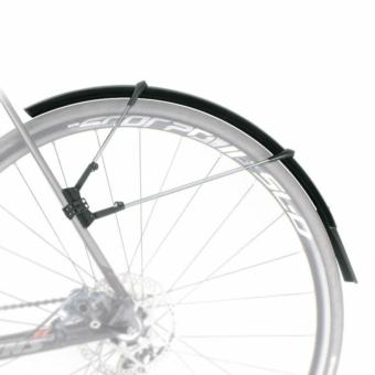 SKS-Germany Raceblade Pro kerékpár sárvédő szett [matt fekete]