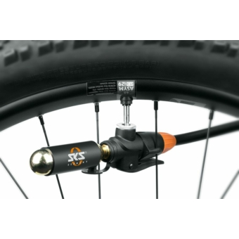 SKS-Germany Tubeless Head szettkerékpár pumpafej