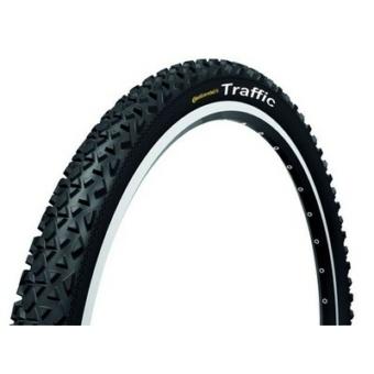 Continental gumiabroncs kerékpárhoz 50-559 Traffic II 26x1,9 fekete
