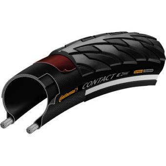Continental gumiabroncs kerékpárhoz 47-406 Contact 20x1,75 fekete/fekete, reflektoros