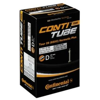 Continental belső tömlő kerékpárhoz Tour 26 Hermetic Plus 37/47-559/597 D40 dobozos (Egységkarton: 25 db)