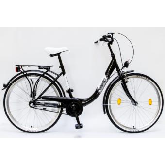 """Schwinn-Csepel BUDAPEST """"B"""" 26/18 N3 Agyváltós Városi Kerékpár- Több színben"""