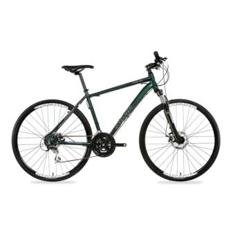 Csepel WOODLANDS CROSS 700C 2.0 24S SMALL ZÖLD kerékpár - 2020