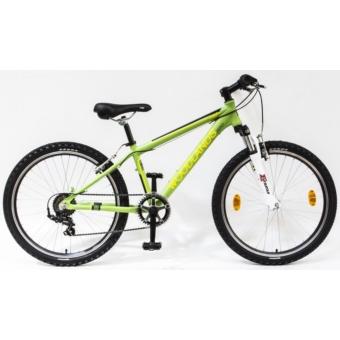 Csepel WOODLANDS ZERO 24 6SP 18 ALU TELOS ZÖLD gyermek kerékpár - 2020