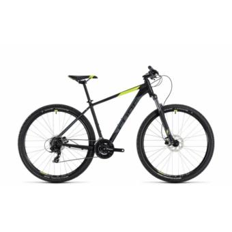 """CUBE AIM PRO BLACK´N´FLASHYELLOW 2018 27,5"""" és 29"""" MTB Kerékpár"""
