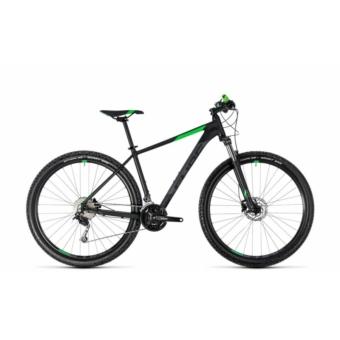"""CUBE AIM SL BLACK´N´FLASHGREEN 2018 27,5"""" és 29"""" MTB Kerékpár"""