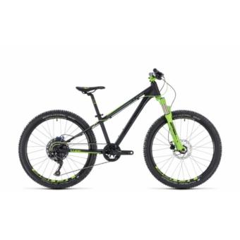 """CUBE KID 240 SL BLACK´N´GREEN 2018 24"""" Gyermek Kerékpár"""