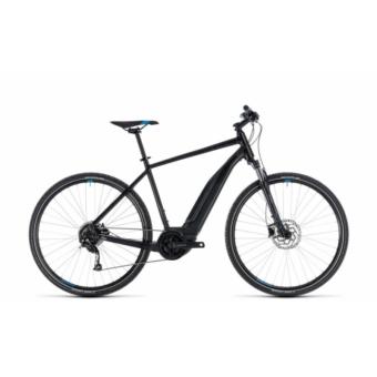 CUBE CROSS HYBRID ONE 500 BLACK´N´BLUE 2018 Elektromos Kerékpár