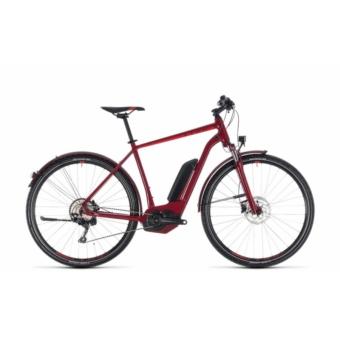 CUBE CROSS HYBRID PRO ALLROAD 500 DARKRED´N´RED 2018 Elektromos Kerékpár