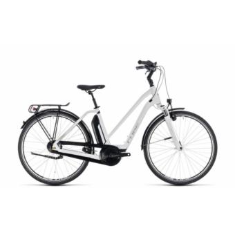 CUBE TOWN HYBRID ONE 500 WHITE´N´SILVER 2018 Elektromos Kerékpár