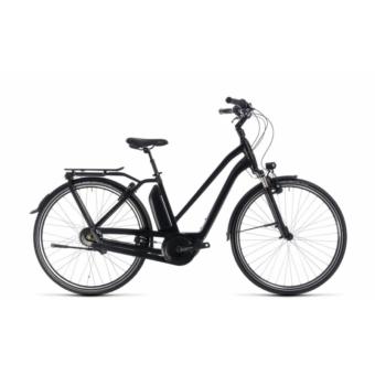CUBE TOWN HYBRID PRO 500 BLACK´N´GREY 2018 EASY ENTRY Elektromos Kerékpár