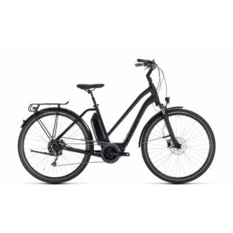 CUBE TOWN HYBRID SPORT 500 BLACK EDITION 2018 EASY ENTRY Elektromos Kerékpár