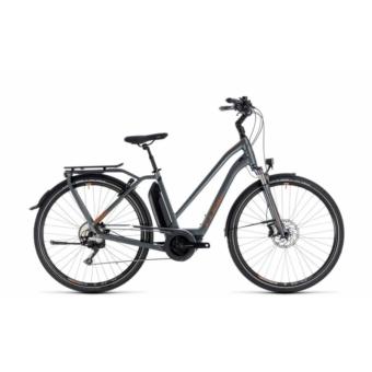 CUBE TOWN HYBRID SPORT PRO 500 GREY´N´COPPER 2018 EASY ENTRY Elektromos Kerékpár
