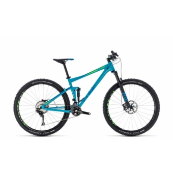 """CUBE STEREO 120 RACE 2018 27,5"""" és 29"""" Összteleszkópos MTB Kerékpár"""