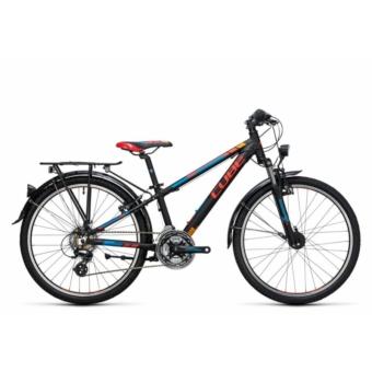 """Cube Kid 240 Street black´n´red 2017 24"""" Gyermek Kerékpár"""