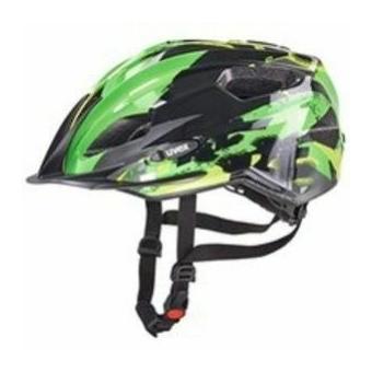 Uvex Quatro Junior black-green bukósisak