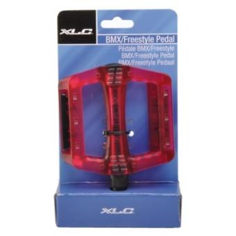 XLC pedál BMX/Freeride lila prizmával