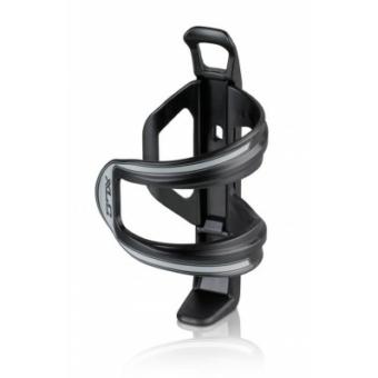 Kerékpár Kulacstartó Sidecage kis vázakhoz, muanyag, fekete-szürke 49 g BC-S06