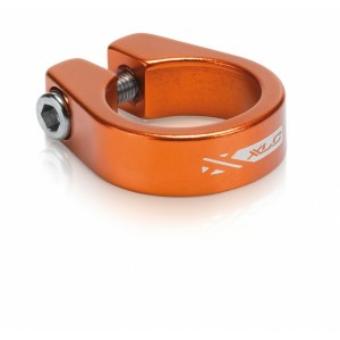 Kerékpár Nyeregcsőbilincs 31,8 mm narancs PC-B05