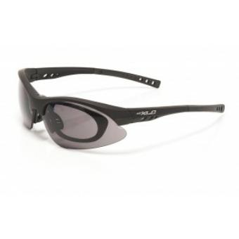 Kerékpár Napszemüveg Bahamas mattfekete szemüvegeseknek SG-F01