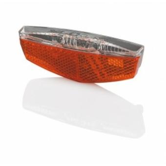 Kerékpár Lámpa hátsó csomagtartóra agydinamó, állófény CL-R17/18