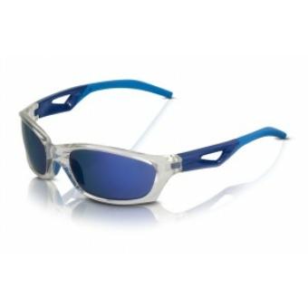 Kerékpár Napszemüveg Saint-Denis szürke keret, kék tükr.lencse SG-C14