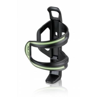 Kerékpár Kulacstartó Sidecage kis vázakhoz, muanyag, fekete-zöld 49 g BC-S06