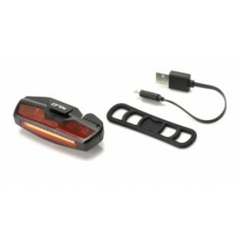 Kerékpár Lámpa hátsó LED, USB CL-R21