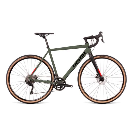 Dema GRITCH 1 army green-black gravel kerékpár 2022