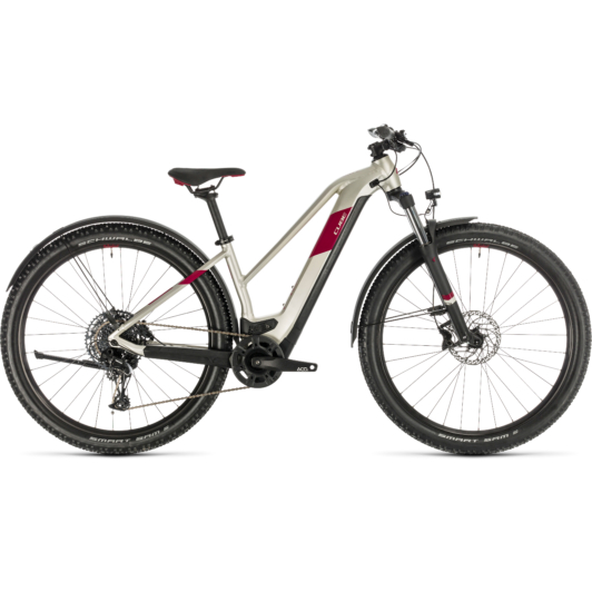 CUBE ACCESS HYBRID EX 500 ALLROAD 29 TRAPÉZ Női Elektromos MTB Kerékpár 2020