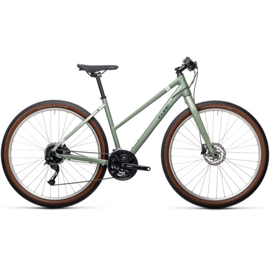 "CUBE HYDE GREEN`N´GREY 29"" TRAPÉZ 2021"