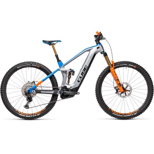 Cube Stereo Hybrid 140 HPC ACTIONTEAM 625 NYON  Férfi Elektromos Összteleszkópos MTB Kerékpár 2021