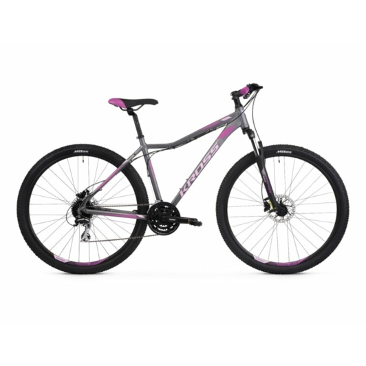 "KROSS LEA 5.0 27,5"" graphite / pink / purpure SR 2021"