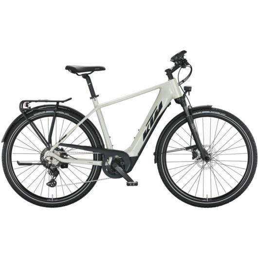 KTM MACINA SPORT 630 TRAPÉZ SILVER Női Elektromos Trekking Kerékpár 2022