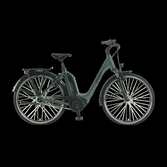 "Winora Tria N8f 500 26"" Olive EASY ENTRY Unisex Elektromos Városi Kerékpár 2021"