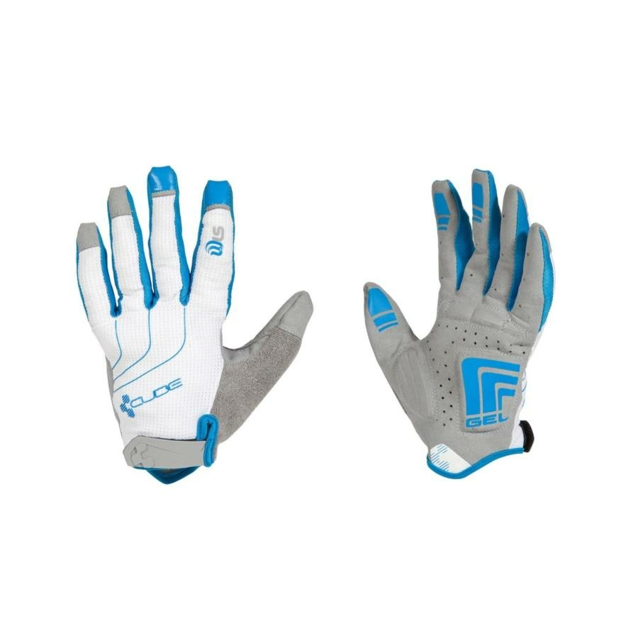 CUBE GLOVES NF LTD LF WHITE/BLUE