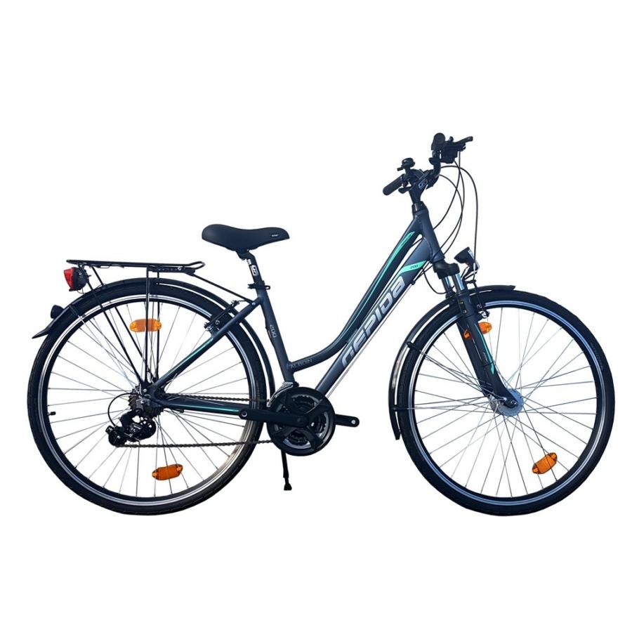 Gepida ALBOIN 200 CRS 28 - a kép illusztráció, a valósában nem tartalmazza a kerékpár a kiegészítőket (sárvédő, lámpa, csomagtartó)