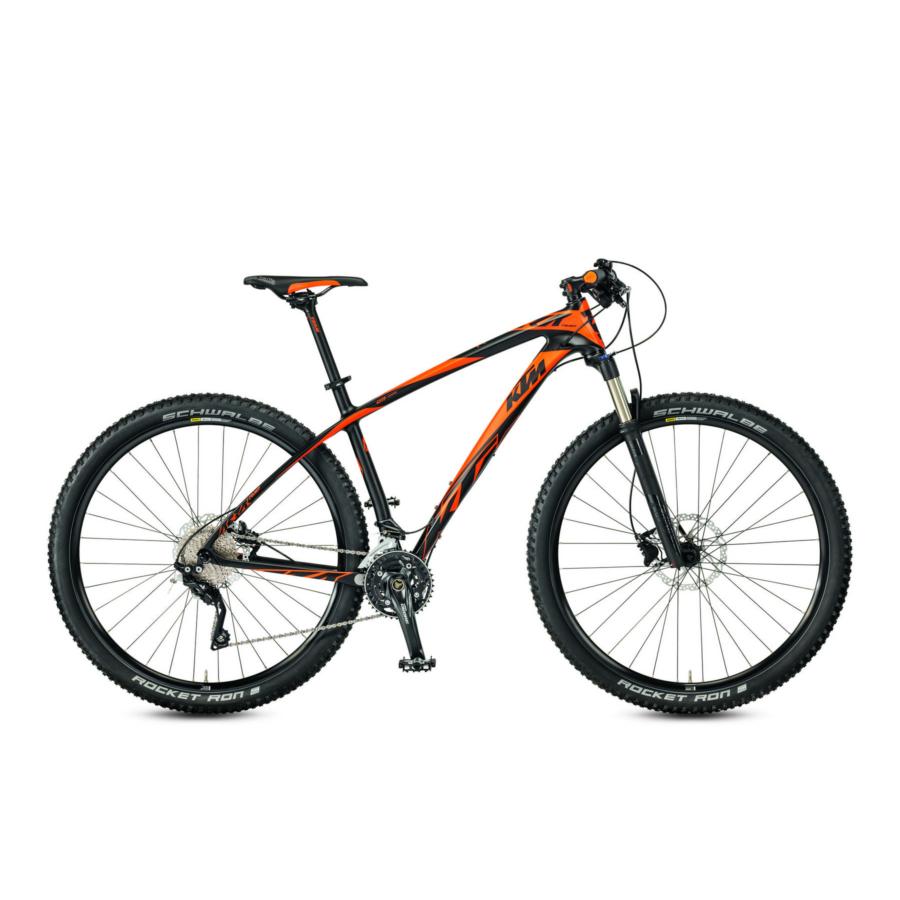 "KTM AERA 29 COMP 2F matt>carbon(orange) F: black Shimano Deore XT  29"" MTB Kerékpár"