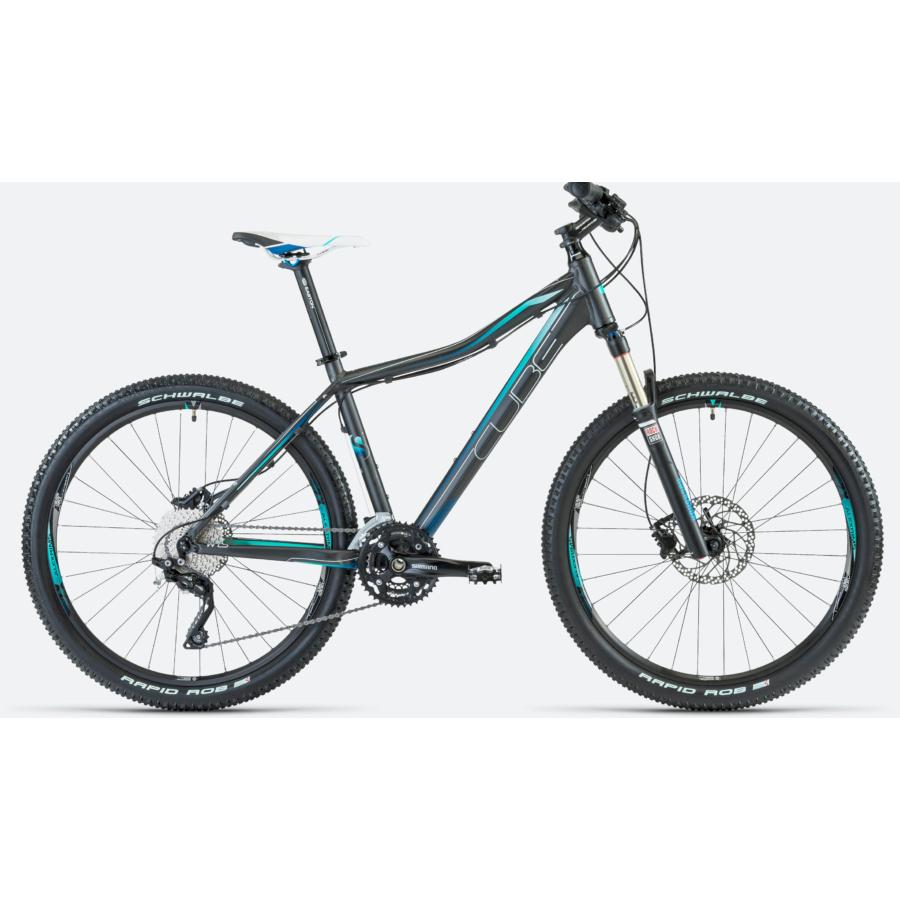 """CUBE ACCESS WLS SL GREY FADING BLUE 2013 29"""" Női MTB Kerékpár"""