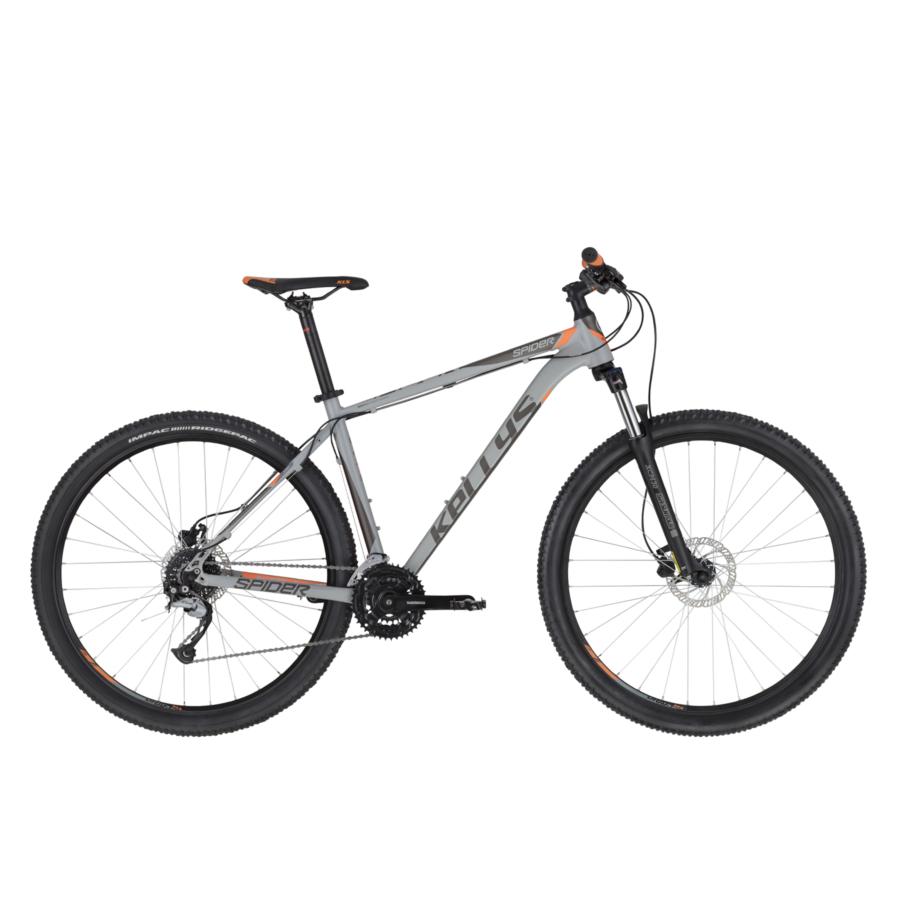 """Kellys Spider 30 Grey Orange MTB 27,5"""" kerékpár 2020"""
