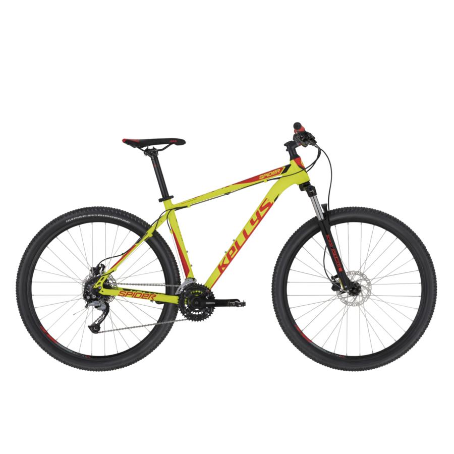 """Kellys Spider 30 Neon Lime MTB 27,5"""" kerékpár 2020"""