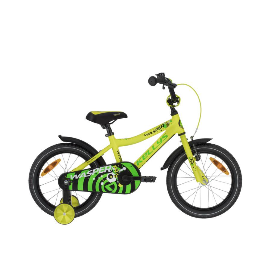 """Kellys Wasper Yellow 16"""" gyermek kerékpár 2020"""