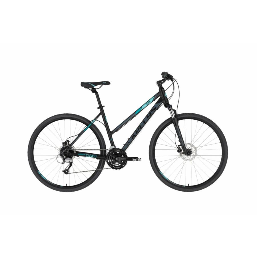 Kellys Clea 90 Black Aqua női cross trekking kerékpár 2020
