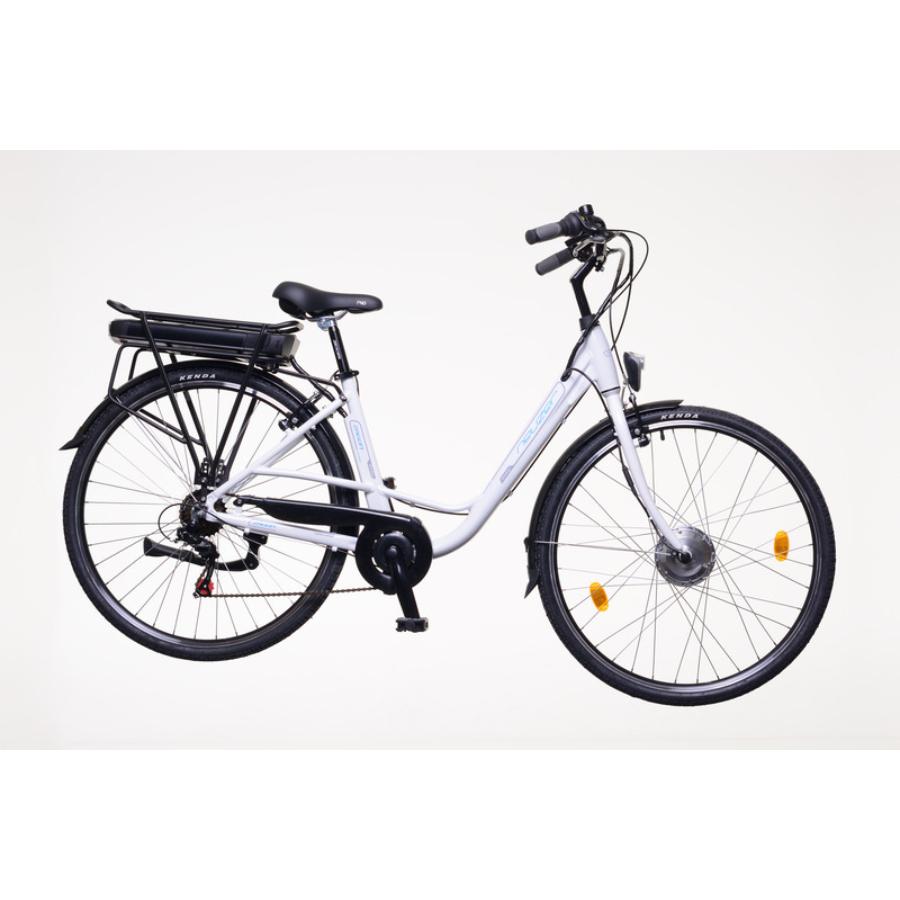 """Neuzer E-Trekking Zagon MXUS fehér Női Elektromos Trekking Kerékpár 28"""""""