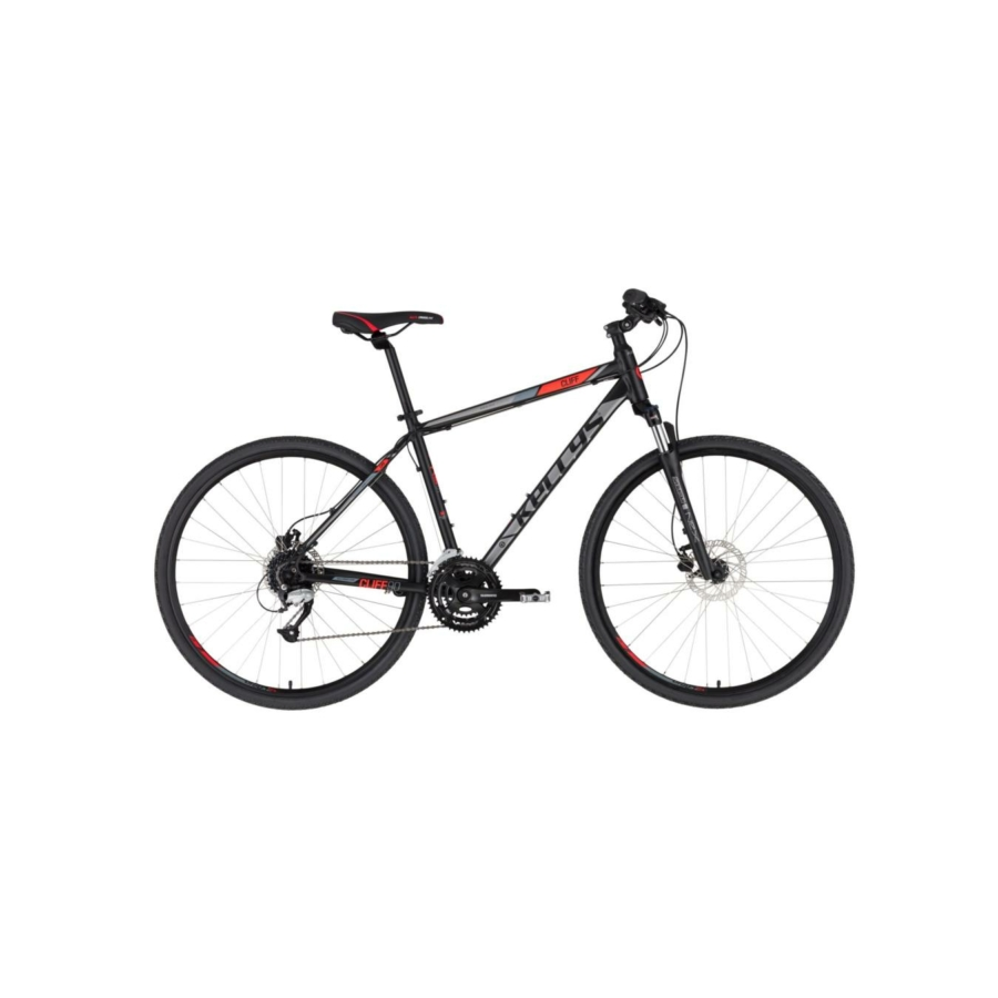Kellys Cliff 90 Black Red cross trekking kerékpár 2020