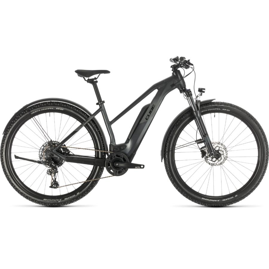 CUBE REACTION HYBRID PRO 500 ALLROAD 29 TRAPÉZ Női Elektromos MTB Kerékpár 2020