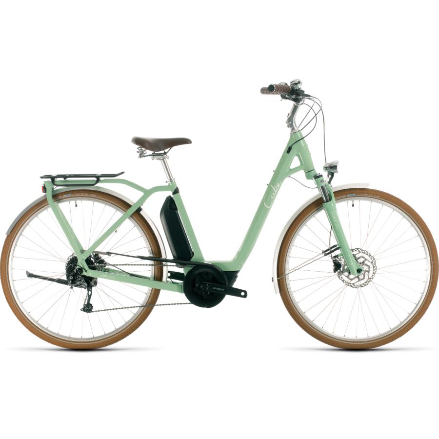 CUBE ELLA RIDE HYBRID 400 Női Elektromos Városi Kerékpár 2020 - Több Színben